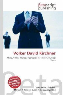 Volker David Kirchner