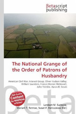 The National Grange of the Order of Patrons of Husbandry