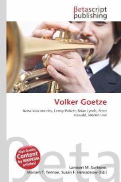 Volker Goetze