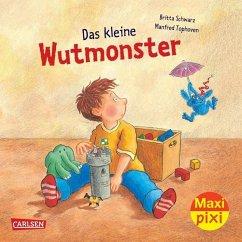 Das kleine Wutmonster - Schwarz, Britta; Tophoven, Manfred