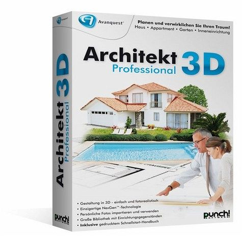 architekt 3d professional pc software