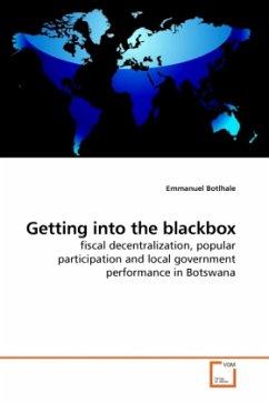 Getting into the blackbox - Botlhale, Emmanuel
