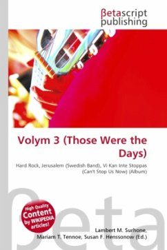 Volym 3 (Those Were the Days)