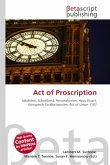 Act of Proscription