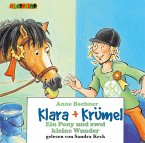 Ein Pony außer Rand und Band / Klara & Krümel Bd.5, 2 Audio-CDs