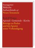 Apostel - Gemeinde - Kirche / Stuttgarter Biblische Aufsatzbände (SBAB)