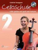 Celloschule, m. Audio-CD
