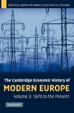 The Cambridge Economic History of Modern Europe, Volume 2