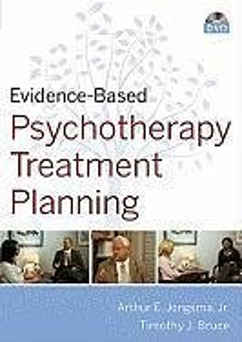 Evidence-Based Psychotherapy Treatment Planning DVD and Workbook Set - Jongsma, Arthur E.; Bruce, Timothy J.
