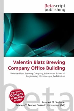 Valentin Blatz Brewing Company Office Building