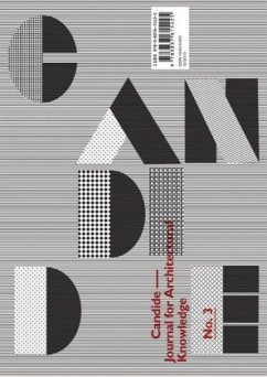 Candide. Journal for Architectural Knowledge