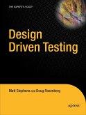 Design Driven Testing: Test Smarter, Not Harder