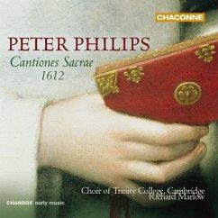 Cantiones Sacrae 1612 - Marlow,Richard/Choir Of Trinity College,Cambridge