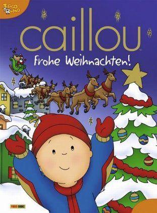 Caillou Weihnachten.Caillou Frohe Weihnachten