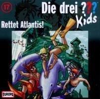 rettet atlantis / die drei fragezeichen-kids bd.17 1 audio-cd von ulf blanck - hörbücher