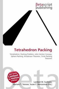 Tetrahedron Packing