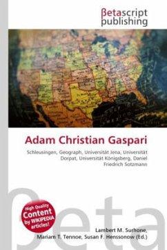 Adam Christian Gaspari