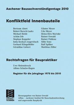 Aachener Bausachverständigentage 2010
