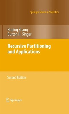Recursive Partitioning and Applications - Zhang Heping; Singer, Burton H.