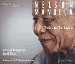Bekenntnisse, 4 Audio-CDs - Mandela, Nelson