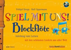 Blockflöte, m. Audio-CD