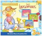 Jede Menge Hörspiel-Spaß mit Leo Lausemaus, 3 Audio-CDs
