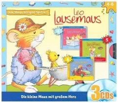 Jede Menge Hörspiel-Spaß mit Leo Lausemaus, 3 A...
