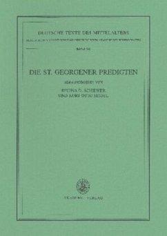 Die St. Georgener Predigten