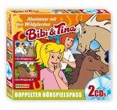 Abenteuer mit Wildpferden / Bibi & Tina Bd.13/14 (2 Audio-CDs)