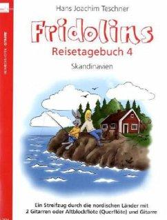 Fridolins Reisetagebuch, 2 Gitarren oder Altblockflöte (Querflöte) und Gitarre, Spielpartitur