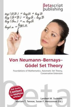 Von Neumann Bernays Gödel Set Theory
