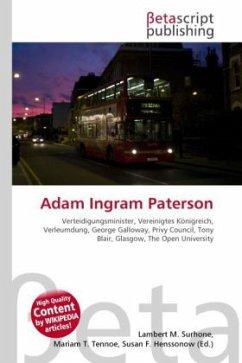 Adam Ingram Paterson