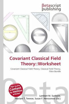 Covariant Classical Field Theory::Worksheet