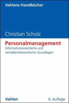 Personalmanagement - Scholz, Christian