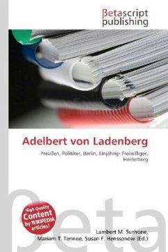 Adelbert von Ladenberg