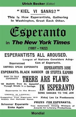 Esperanto in the New York Times (1887 - 1922) - Becker, Ulrich