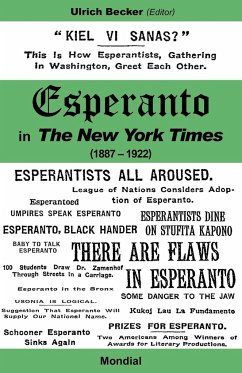 Esperanto in the New York Times (1887 - 1922) - Becker, Ulrich