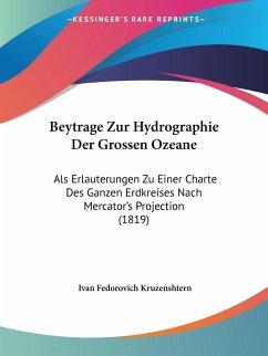 Beytrage Zur Hydrographie Der Grossen Ozeane