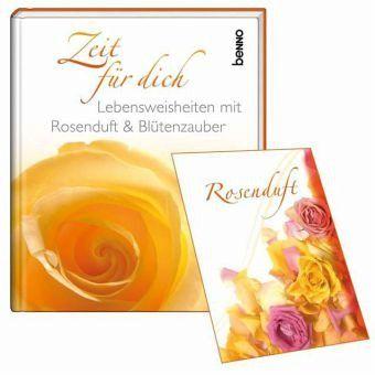 Zeit für dich, m. Rosenduft-Sachet