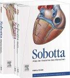 Sobotta, Atlas der Anatomie des Menschen. 3 Bände und Tabellenheft im Schuber, inklusive Zugang zur Sobotta-Website