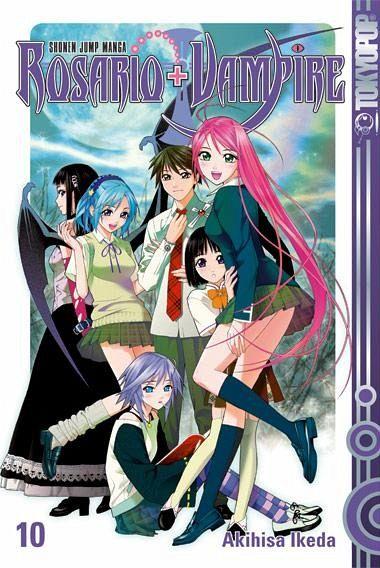 Buch-Reihe Rosario + Vampire