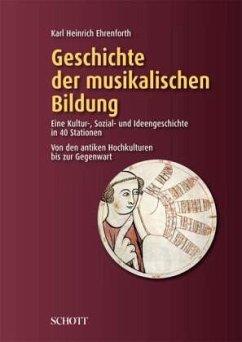 Geschichte der musikalischen Bildung