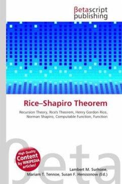 Rice Shapiro Theorem