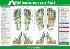 Reflexzonen am Fuß, Poster (A4)