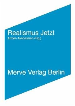 Realismus Jetzt - Brassier, Ray; Harman, Graham; Toscano, Alberto