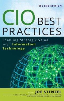 CIO Best Practices 2e (SAS) - Stenzel; Hugos; Hujsak