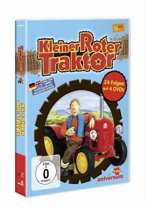 kleiner roter traktor 01 - 04 (4 discs) auf dvd