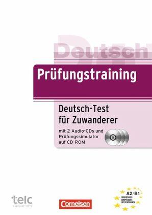 Briefe Schreiben Deutsch Als Fremdsprache übungen Für A2 Und B1 : Prüfungstraining daf deutsch test für zuwanderer