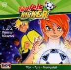1-2-3 Winter-Hexerei! / Teufelskicker Hörspiel Bd.25 (1 Audio-CD)