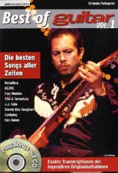 Best of Guitar, m. Audio-CD